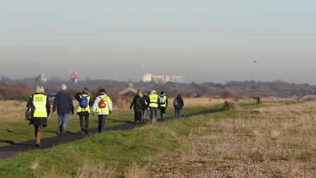 A health walk from Aldeburgh to Thorpeness. Picture: Archant