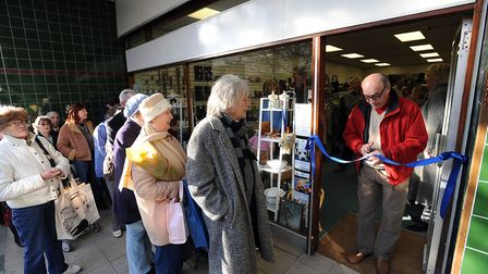 PICTURE of the opening of the Sudbury store. The new RSPCA Danaher Animal Home shop will open in Ha