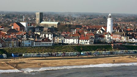 Southwold is plagued by an unpleasant pong. Picture: MIKE PAGE