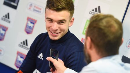 Drinan spoke to the media for the first time on Thursday. Picture: GREGG BROWN