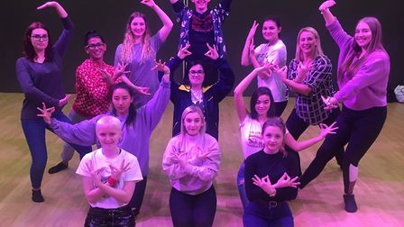 Dance rehearsals for the King and I at Suffolk One. Picture: JOHN NICE