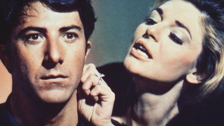 Dustin Hoffman and Anne Bancroft in Mike Nichols' The Graduate(1967). Photo: Rialto Pictures/StudioC