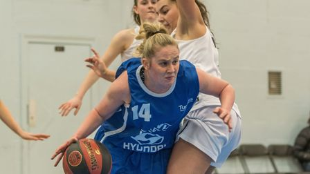 Harriet Welham led Ipswich with 35 points against Worcester. Picture: PAVEL KRICKA