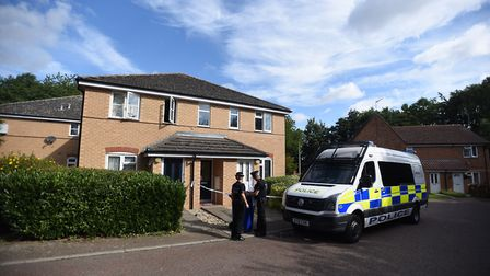 Police were called to reports that a man had been stabbed in Cumberland Avenue, Bury St Edmunds. Pic