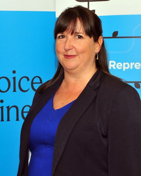 Amanda Ankin, of Suffolk Chamber of Commerce, says the pay gap is 'disappointing'. Picture: SUFFOLK