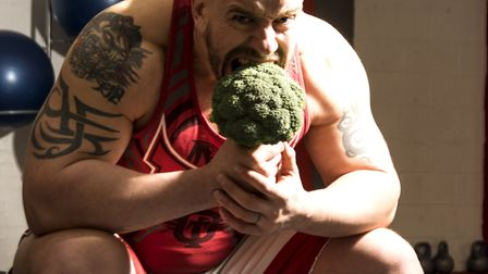 Personal trainer and vegan nutrionist Paul Kerton, aka Hench Herbivore, says he once ate more meat a