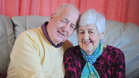 Ann and Bob Ramsey are celebrating their 60th wedding anniversary. Picture: SARAH LUCY BROWN