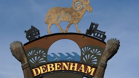 Debenham could be set for hundreds of new homes. Picture: SIMON PARKER
