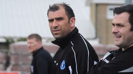 Bury Town manager Ben Chenery