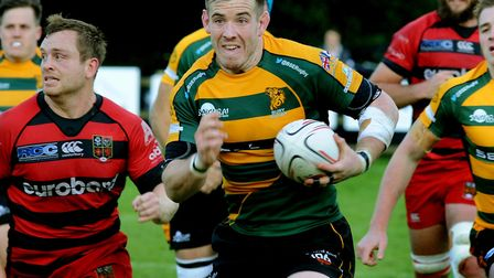 Sean Stapleton, who will at flanker for Bury St Edmunds against visiting Barnstaple this afternoon.