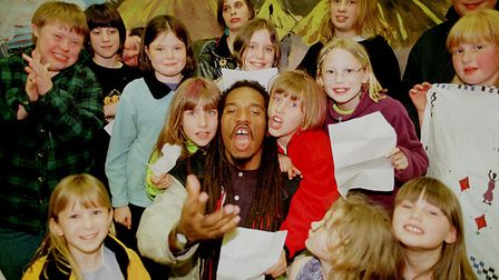 Benjamin Zephaniah at The Apex in Bury St Edmunds this May and Norwich Playhouse in June. Photo: Sim