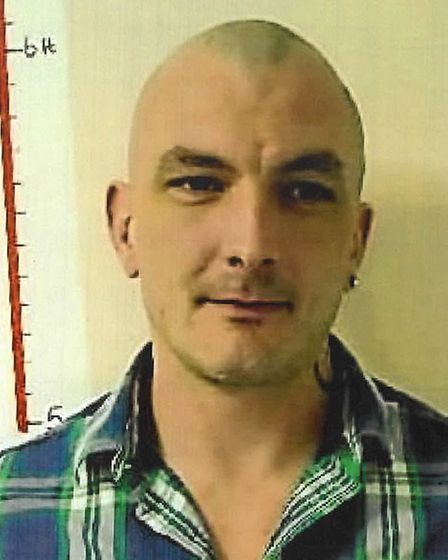 Robert Butler is also wanted by police after absconding from Hollesley Bay. Picture: SUFFOLK POLICE