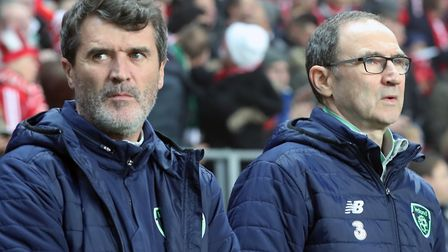 Roy Keane and Martin O'Neill have been in charge of the Republic of Ireland since November 2013. Pho