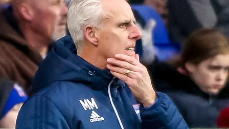 Ipswich Town manager Mick McCarthy ponders during last weekend's FA Cup defeat to Sheffield United.