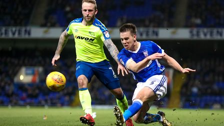 Jonas Knudsen is likely to deputise at centre-back again in the absence of the injured Adam Webster.
