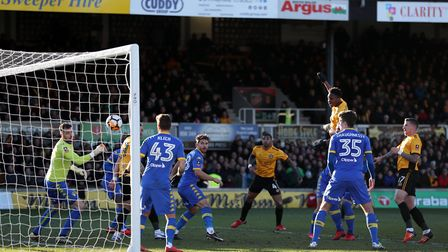 Shawn McCoulsky scores the crucial goal in Leeds United's 2-1 FA Cup defeat at League Two side Newpo
