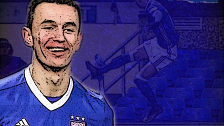 Kings of Anglia podcast: Bersant Celina scored the winning goal for Ipswich against Leeds. Picture:
