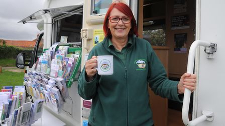 Ann Osborn, project manager of The Rural Coffee Caravan. Picture: SIMON PARKER
