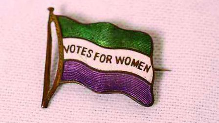 The first of two laws was passed in 1918 that gave women the right to vote. Picture: ARCHANT