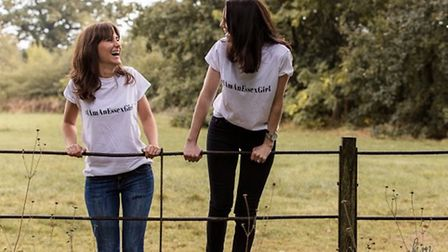 Juliet Thomas and Natasha Sawkins launched a campaign to end the Essex girl stereotype. Picture: KIK