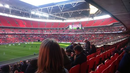 The women's FA Cup Final last May. Manchester City Women took on Birmingham City Ladies. Picture: KA