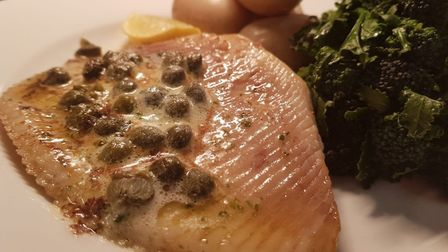 Simpers of Ramsholt feature; Skate wing from Simpers, prepared by James Barber, hed chef at the Wh