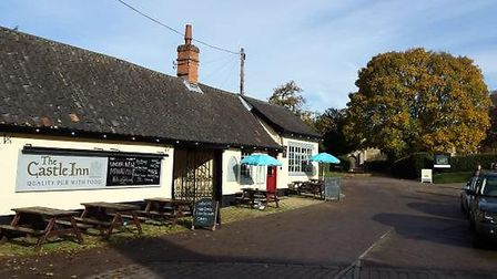 Enjoy an afternoon at The Castle Inn in Framlingham. Picture: CONTRIBUTED