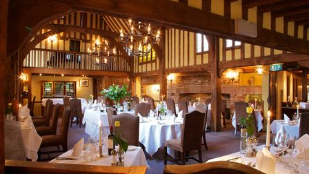 The Gallery restaurant at The Swan at Lavenham. Picture: Nick Smith Photography