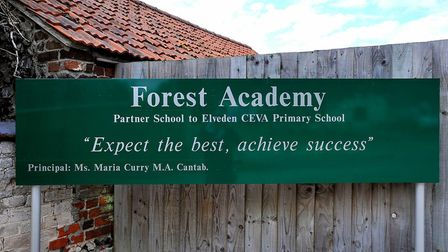Forest Academy is one of several schools to close amid high winds. Picture: ARCHANT
