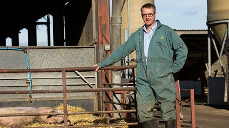 East of England Producer of the Year Essex contender Fergus Howie of Wicks Manor Pork, of Tolleshunt