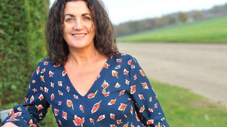 Campaigner and fundraiser Gina Long MBE. Picture: LUCY TAYLOR
