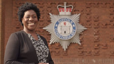 Franstine Jones of Suffolk Constabulary. Picture: SARAH LUCY BROWN