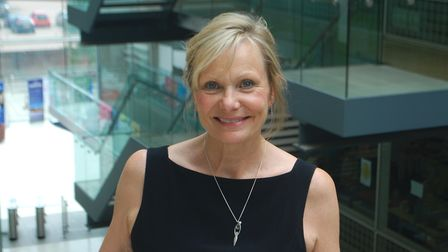 Sue Cook, interim chief executive of Suffolk County Council. Picture: CONTRIBUTED