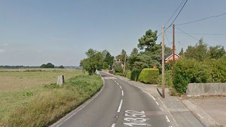 The crash happened in Station Road, close to the Shore Lane junction. Picture: GOOGLE MAPS