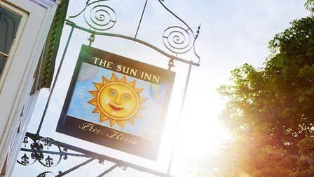 The Sun Inn at Dedham. Picture: PIERS BAKER