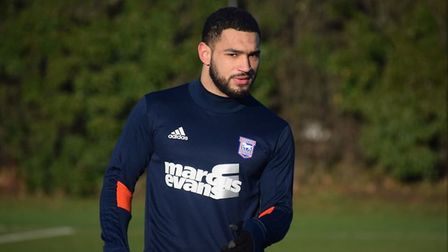 The new signing could be involved at Bolton on Saturday. Picture: ITFC