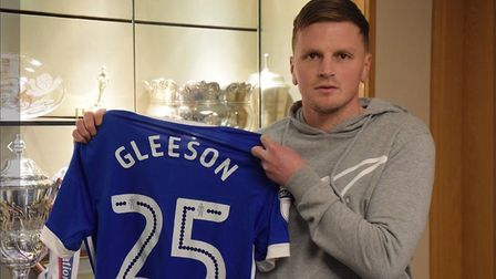 Stephen Gleeson has completed his move to Ipswich Town. Picture: ITFC