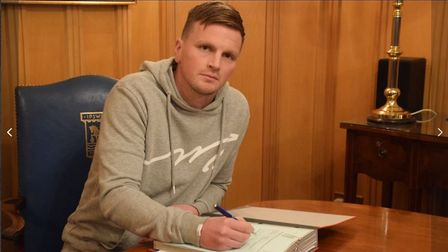 Stephen Gleeson has signed a contract to the end of the season. Picture: ITFC