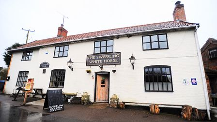 White Horse pub in Sweffling will be welcoming the wassailers. Picture: ARCHANT
