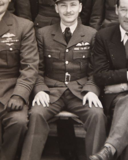 Mr Hearne spent 20 years in the RAF. Picture: GREGG BROWN