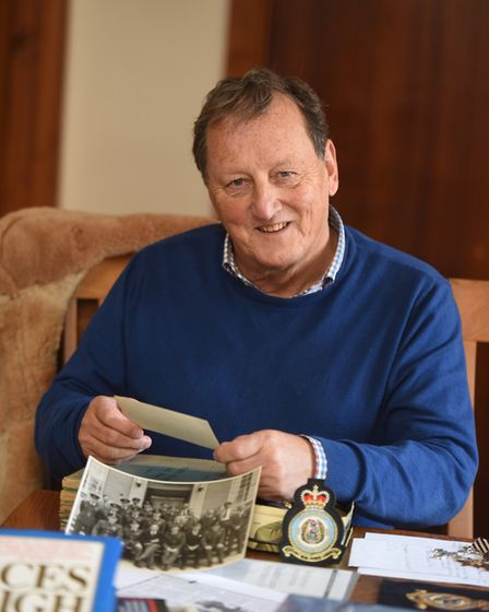 Mr Hearne's son, Damian Hearne, reflects on his father's life. Picture: GREGG BROWN