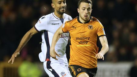 Bolton's Karl Henry (left) was a key man for Wolves under Mick McCarthy's management. Photo: PA