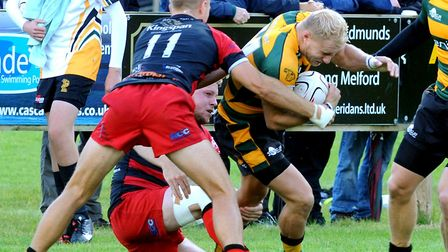 Chris Snelling scored on of Bury's late tries in their win. Picture: ANDY ABBOTT