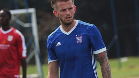 Luke Hyam has not played for the Blues since the final day of the 2015/16 season.