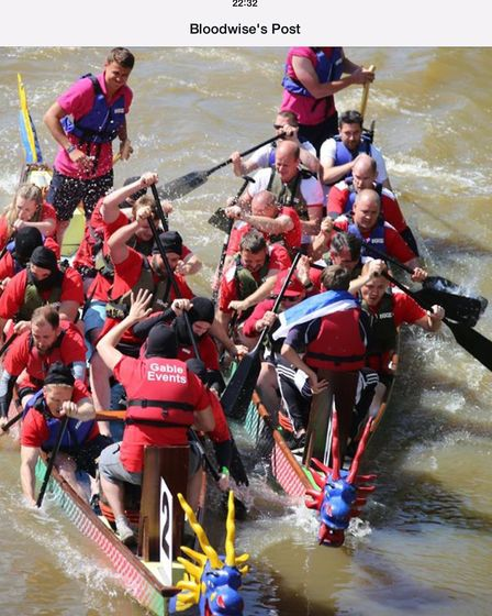 The Tim Reeve Charitable Trust has held four dragon boat race tournaments in Chelmsford, which alway