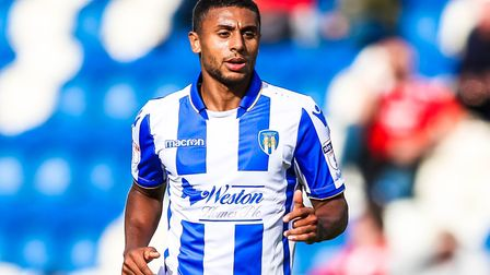 Midfielder Brandon Comley, on his U's debut in the home match against Crawley from last September. P