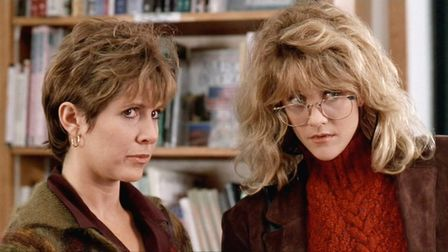 When Harry Met Sally, starring Carrie Fisherl and Meg Ryan. Photo: Columbia Tri-Star