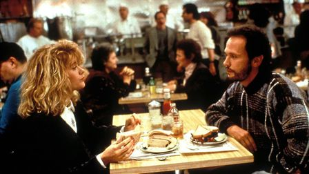 When Harry Met Sally, starring Billy Crystal and Meg Ryan, written by Nora Ephron and directed by Ro