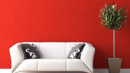 Red in the home is a strong statement. Picture: Thinkstock
