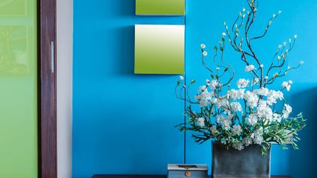 Blue evokes a cool and calming mood. Picture: Thinkstock